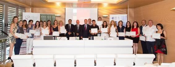 Ceremonia de graduación del Máster Universitario en Gestión Administrativa de la Universidad Católica de Valencia San Vicente Mártir