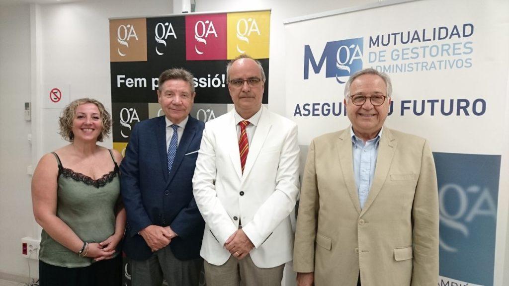 Renovacion convenio gestores cataluña con Mutuaga 2019