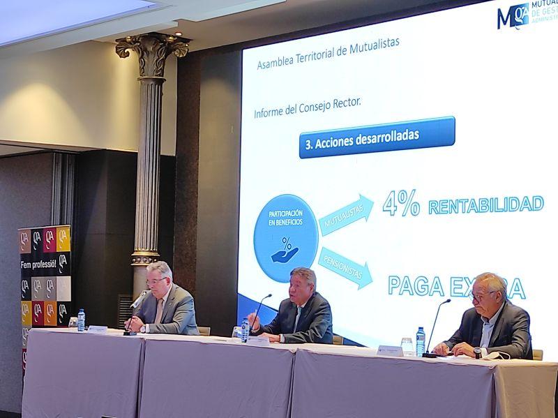 Celebramos la Asamblea Territorial de Mutualistas en Barcelona